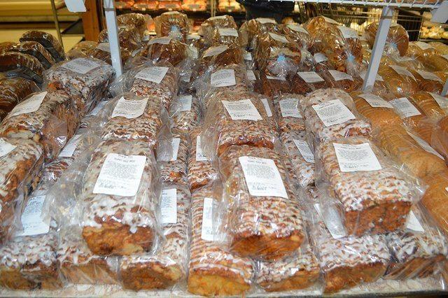 variety of fresh breads