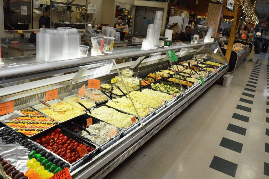 deli items available for sale