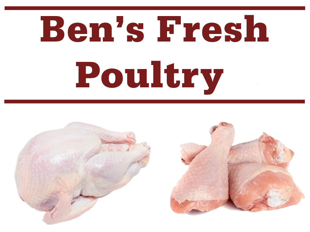 Bens fresh poultry banner