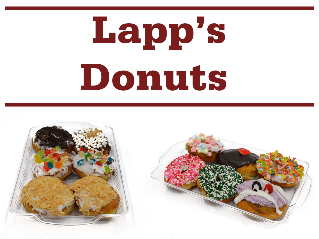 lapps donuts banner