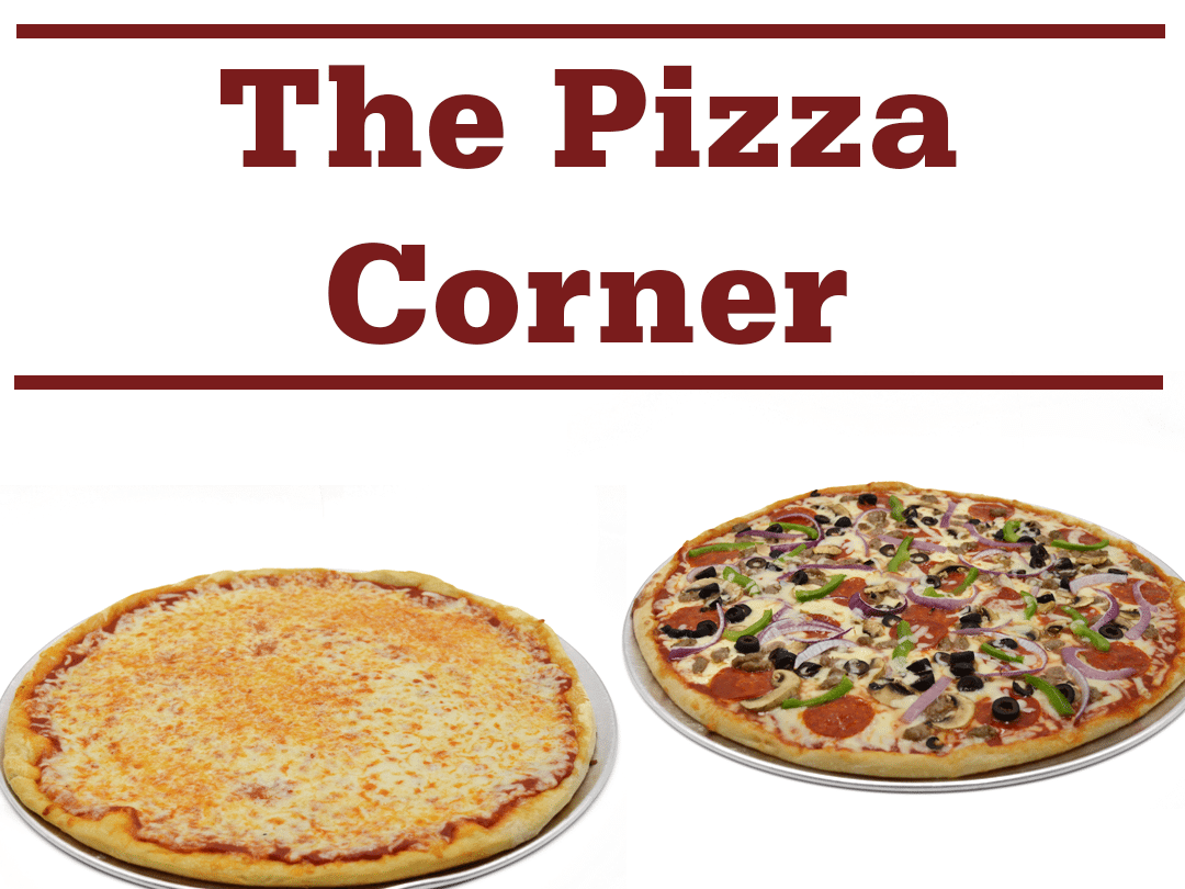 the pizza corner banner