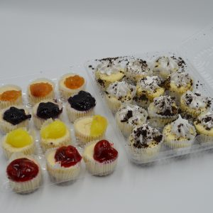 assorted mini cheese cake