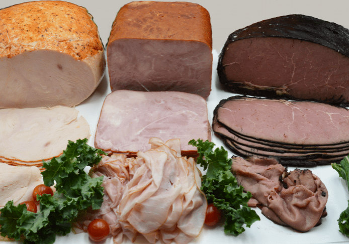 various deli meats